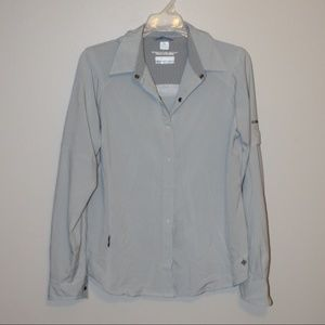 Columbia Athletic Long Sleeve Button-up L